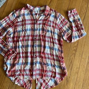 Lucky flannel button up